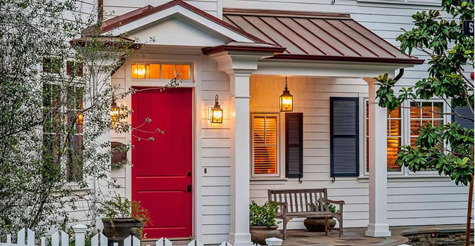 Exterior High Quality Painting Overland Park Door painting in Overland Park